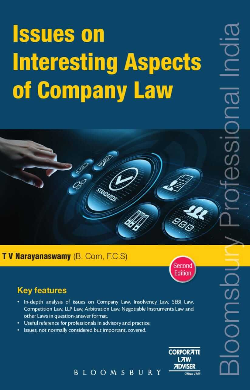 Issues on Interesting Aspects of Company Law (Second Edition) 2021 by T V Narayanaswamy